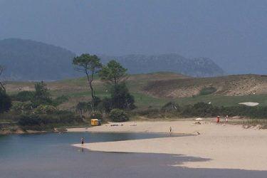 Vista general de Playa de la Rabia