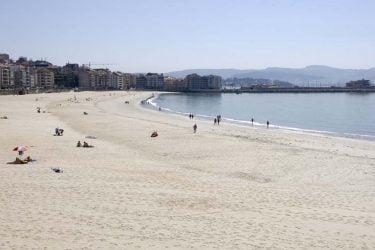 Vista general de Playa del Silgar