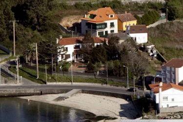 Vista general de Praia Canelas