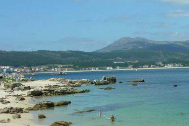Vista general de Praia Cativa ou Gavoteira do Fontán