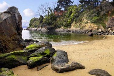 Vista general de Praia Espiñeiro