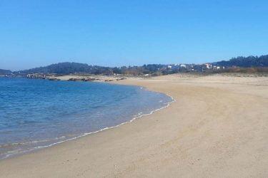 Vista general de Praia Mexilloeira