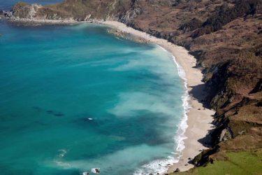 Vista general de Praia Sarridal