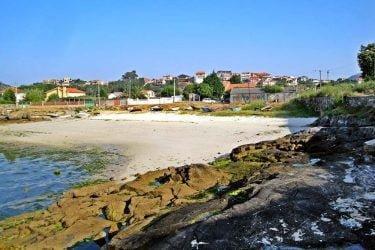 Vista general de Praia da Congorza