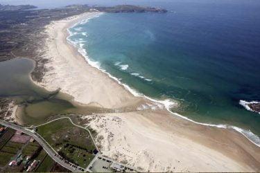 Vista general de Praia da Frouxeira
