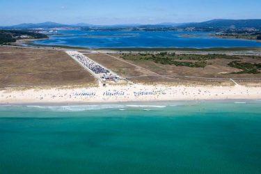 Vista general de Praia da Lanzada