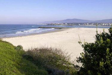 Vista general de Praia da Rapadoira