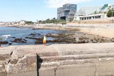 Vista general de Praia das Ratas