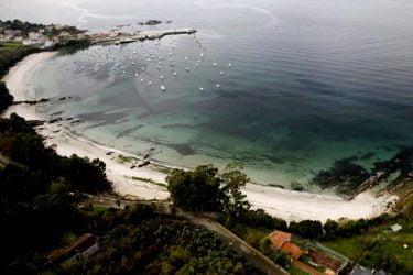 Vista general de Praia de Aguete