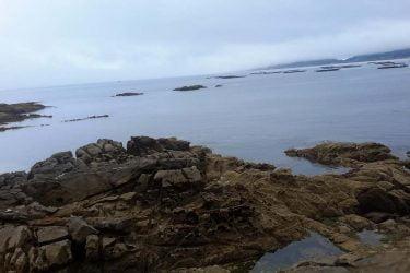 Vista general de Praia de Alada
