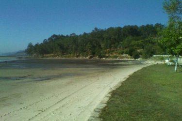 Vista general de Praia de Areeiros
