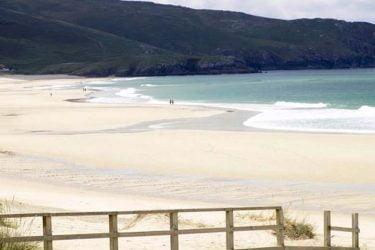 Vista general de Praia de Doniños