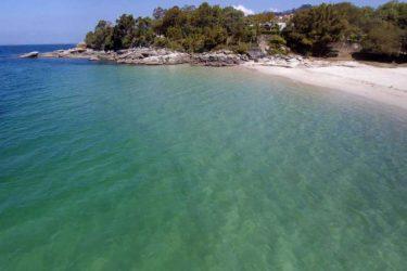 Vista general de Praia de Francón