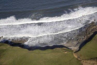 Vista general de Praia de Paixás