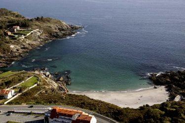 Vista general de Praia de Paxariñas
