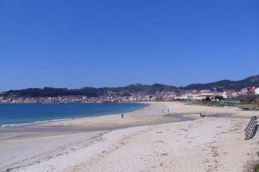 Vista general de Praia de Rodeira