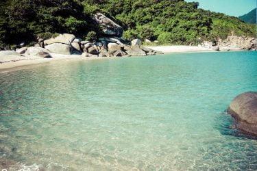 Vista general de Praia de San Cibrán