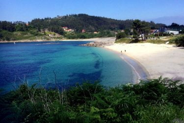 Vista general de Praia de Santa Marta