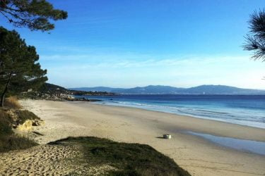 Vista general de Praia de Viñó