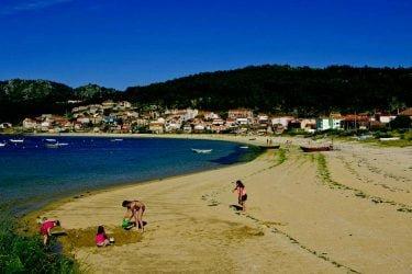 Vista general de Praia de Vilariño