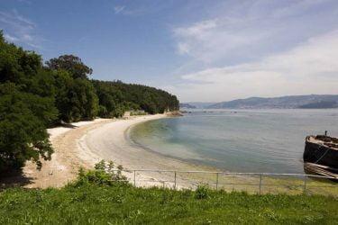 Vista general de Praia do Canabal