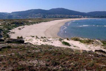 Vista general de Praia do Medio