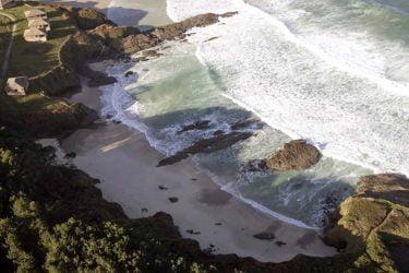 Vista general de Praia dos Alemáns